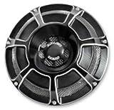 Arlen Ness 70-211 Black Billet Horn Kit (Beveled)