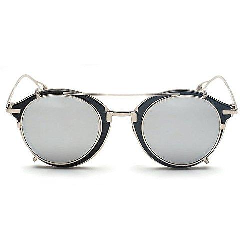 de Hommes amovible soleil Unisexe soleil Rimmed Style Punk pour lunettes les soleil Lunettes les élégant Rock Lunettes Cadre femmes de solei Classique Lunettes pour et en Métal étoiles de plastique de Tnxaqw8
