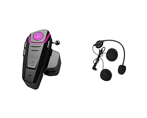 18ab003b552 Yideng 1 x 800m New Generation Universal Water Resistant Bluetooth Helmet  Headset Intercom Interphone for Motorcycle Motorbike Skiing Helmet for 2 or  more ...