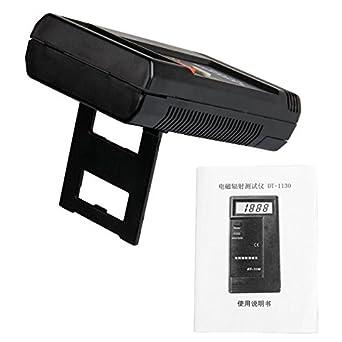 SODIAL(R) RADIACIoN ELECTROMAGNeTICA MEDIDOR TESTER LCD PORTaTIL: Amazon.es: Industria, empresas y ciencia