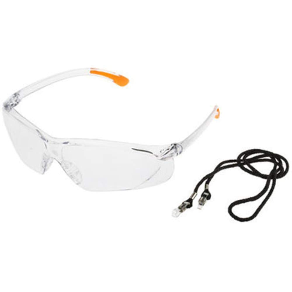 RS Pro Fossa Glasses; Clear, Pack of 10