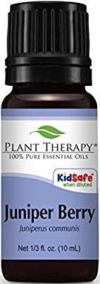 Plant Therapy Juniper Berry Essential Oil | 100% Pure, Undiluted, Natural Aromatherapy, Therapeutic Grade