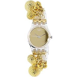 Swatch Women's Originals LK349G Gold Stainless-Steel Quartz Watch