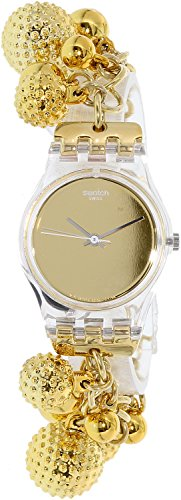 Swatch Women's Originals LK349G Gold Stainless-Steel Quartz Watch