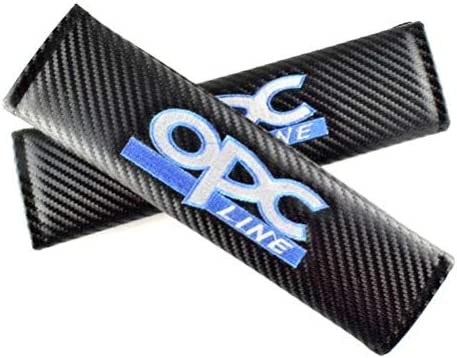 Carbon Effect Tgh Kit 2 Seat Belt Covers OPC