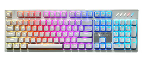 Zalman ZM-K900M White BR Kailh Brown Switch RGB Backlight for sale  Delivered anywhere in USA