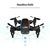 Kinrui JJRC H53W Mini Foldable Pocket Drone Mini FPV Quadcopter Selfie 480P WiFi Camera Hover