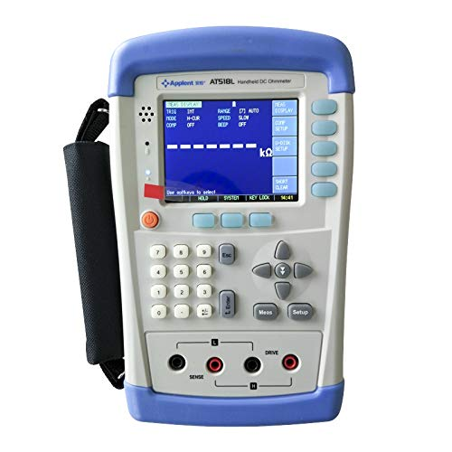 - Applent AT518L Micro Ohmmeter with Measurement Range 10micro ohm-200k ohm