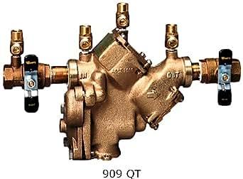 "Watts Series 909M1QT Reduced Pressure Zone Backflow Preventer 2"" (0385719)"