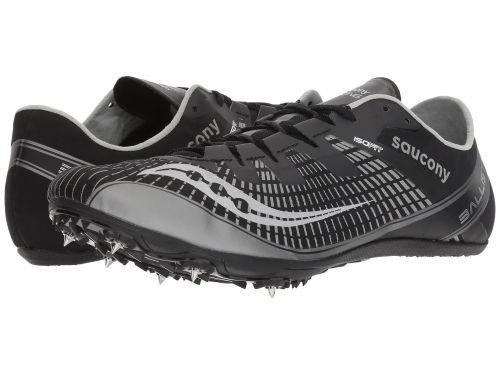 翻訳する賛辞爆弾Saucony(サッカニー) メンズ 男性用 シューズ 靴 スニーカー 運動靴 Ballista 2 - Black/Silver [並行輸入品]