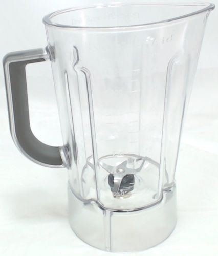 New KitchenAid Plastic Blender Jar Assembly, 56 Oz, AP5804640, PS8768725, W10555711