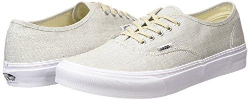 Zapatillas Vans Unisex Authentic Skate (chambray) Gris / Blanco Verdadero