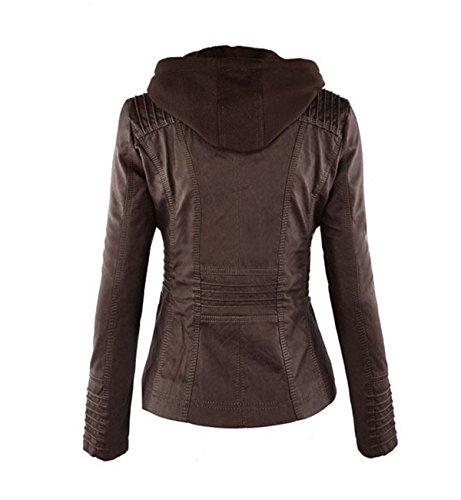 Braun Blouson Manches Longues 2 COCO Femme clothing 7Xf5x1