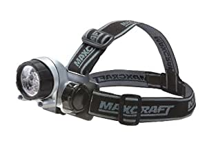 Maxcraft 60197 14-LED Ultra-Bright Headband Worklight