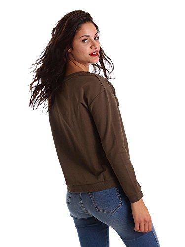 Gaudi jeans 721BD64004 Felpa Donna Verde Xs