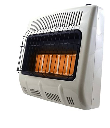 Mr. Heater, Corporation Mr. Heater, 30,000 BTU Vent Free Radiant Natural Gas Heater, MHVFRD30NGT (Gas Wall Heater Ventless)