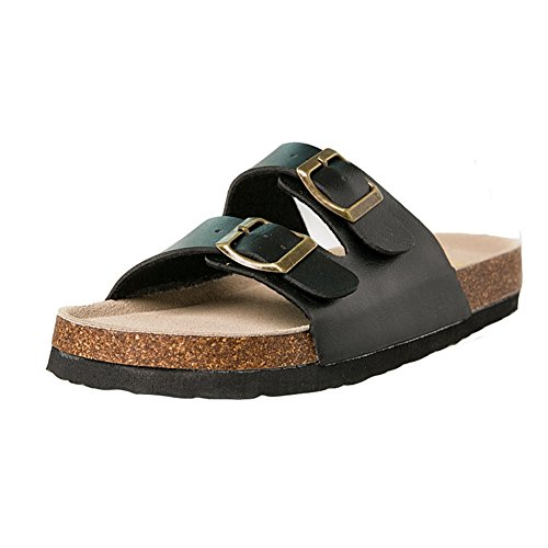 Sandals Slip Sequins Glitter Slides Skid Ladies JULY T Slippers On Womens Anti Sparkle Black Summer Lightweight nYwq8FWCBx