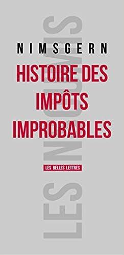 Histoire des impôts improbables