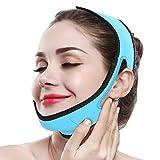 Semme Adelgazante Facial Faja Vendajes Máscara para Adelgazar Cara Piel Reafirmante Papada Reductor y Antiarrugas Cuidado Facial Piel Compacto V-Line