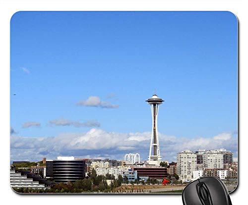 Mouse Pads - Seattle Skyline Space Needle Washington State