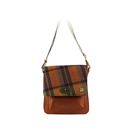 Check Tweed Check Messenger Bag Tweed Orange Bag Orange Bag Messenger Tweed Messenger wUPYRq7Ex