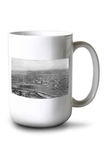 Lantern Press Vale, Oregon Birds Eye View of Town Photograph for sale  Delivered anywhere in USA