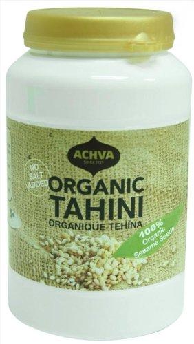 Achva Organic Tahini, 17.6 oz.