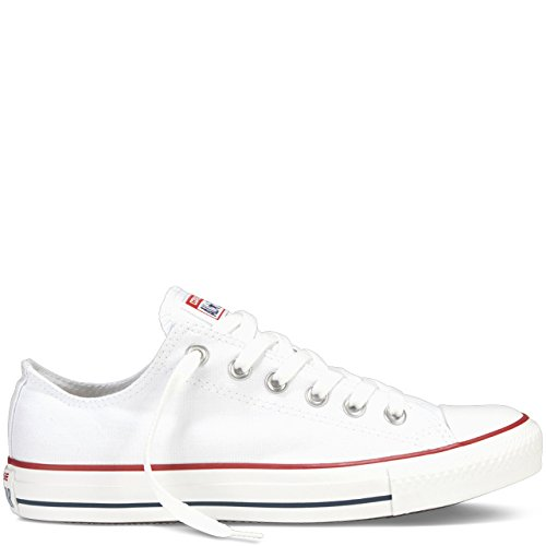Converse Unisex Chuck Taylor All Star Low Top Sneakers -  Optical White - 8.5 B(M) US Women / 6.5 D(M) US Men