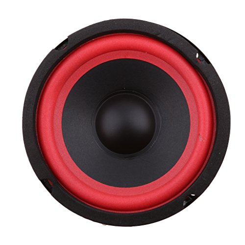 MonkeyJack Replacement 5'' 4Ω 25W Midrange Audio Speaker Stereo Woofer Loudspeaker Horn