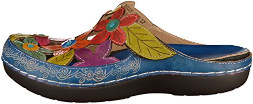 Vita Billy Laura Damen 52 Blau Clogs 0qxd41B