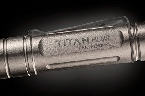 SureFire Titan Plus Ultra-Compact Variable-Output LED Keychain Light, Silver matte by SureFire (Image #6)