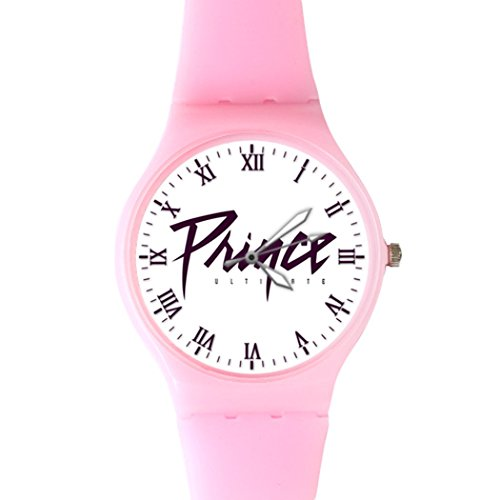 G Store Csdw05181517 Prince Ultimate Quartz Plastic Pink Dial Watch