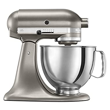 KitchenAid KSM150PSACS 5-Qt. Architect Series with Pouring Shield - Cocoa Silver
