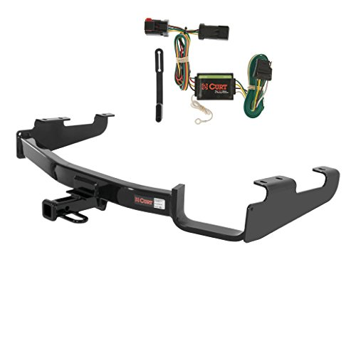 - CURT Class 2 Trailer Hitch Bundle with Wiring for Chrysler Town & Country, Dodge Caravan - 12362 & 55376