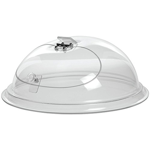 Cal-Mil Clear Acrylic Self-Closing Door in Dome -12'' Dia x 7'' H by ALC