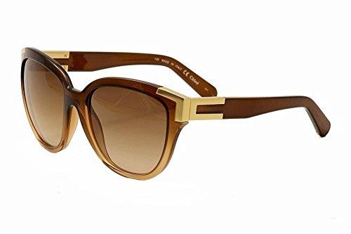Chloé Women's CE635S Designer Sunglasses, Light - Sunglasses Chloe