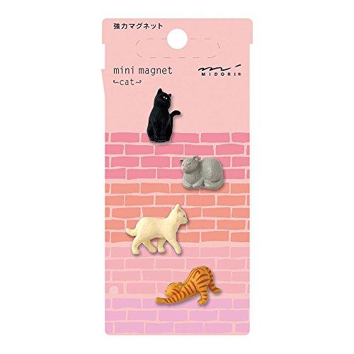 Midori Mini Magnet, Cats (49754006)