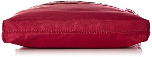 ESPRIT Damen 017ea1o012 Umhängetasche, Rot (Coral Red), 5x37x33 cm