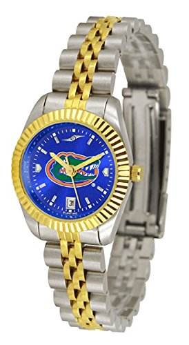 NCAA Florida Gators Ladies Executive Watch with Stainless Steel Band