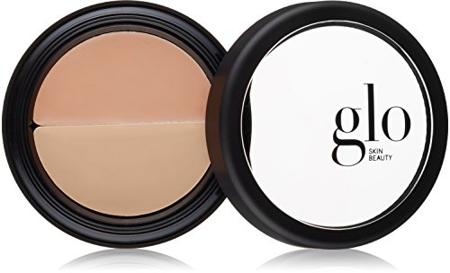 Glo Skin Beauty Under Eye Concealer Duo in Beige | Correct and Conceal Dark Circles, Wrinkles, and Redness | 4 Shades