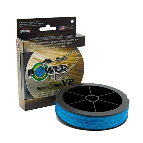 Power Pro 31500801500A SSV2 80 Lb 1500 Yd Blue (80 Lb Slick)