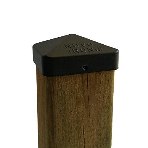 "Nuvo Iron 3.5"" x 3.5"" Eazy Cap  - Black"