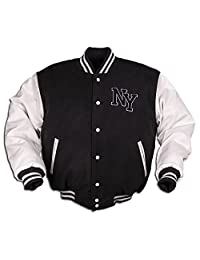 Mil-Tec Vintage NY Baseball Jacket - Black
