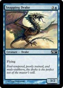 Magic: the Gathering - Snapping Drake - Magic 2010 - Foil