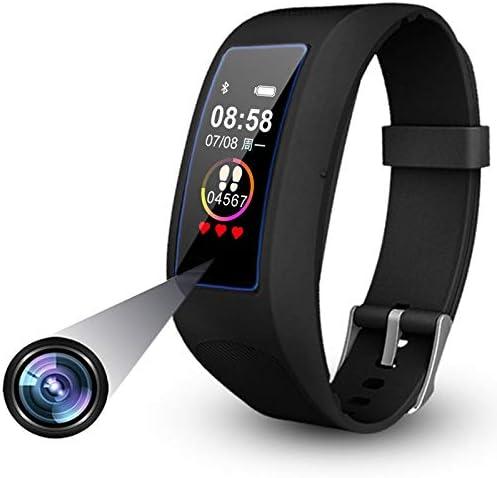 Fitness Armband Uhr Kamera Touchscreen Versteckte Kamera 1080p Videoaufnahme Spionage Kamera Spycam Armband Uhr Überwachungskameras Pulsmesser Sportuhr Mit Bluetooth 32gb Baumarkt