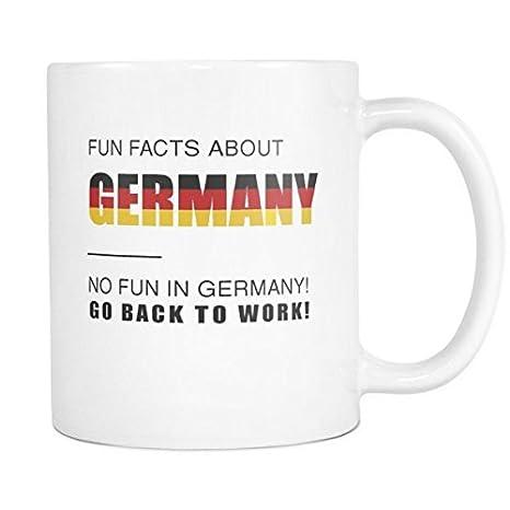 Amazon.com: Fun – Taza hechos de Alemania No es divertido en ...