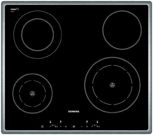 Siemens EH755501E hobs Negro Integrado Combi - Placa (Negro ...