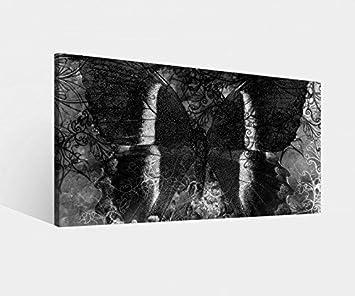 8c78d5974a9aa Amazon.de  Leinwandbild Schmetterling braun Vintage abstrakt Hintergrund  schwarz weiß Leinwand Bild