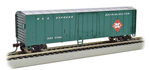 Bachmann Industries Steel Reefer Railway Express Freight Car, 50' 50' Express Reefer Car