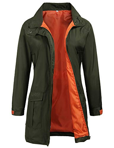 Casual Jacket for Winter Ladies Rain Mac Parka Fishtail for sale  Delivered anywhere in USA